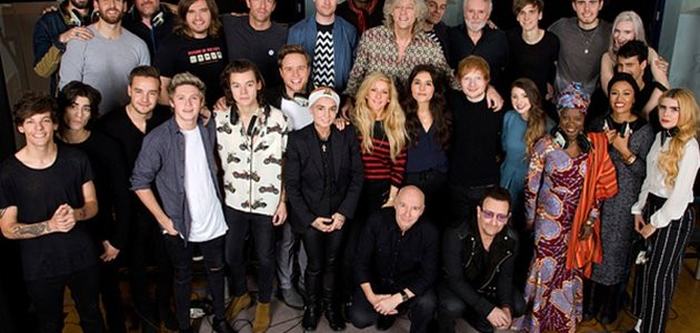BandAid 30 – #CHRISTmas2014 – buy the song…stop the virus #ebola #doinggood